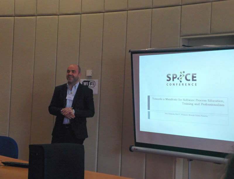 SPICE 2016 Presentation, Dublin, Ireland, 2016 <a href='http://www.spiceconference.com/' target='_blank'>Website</a>